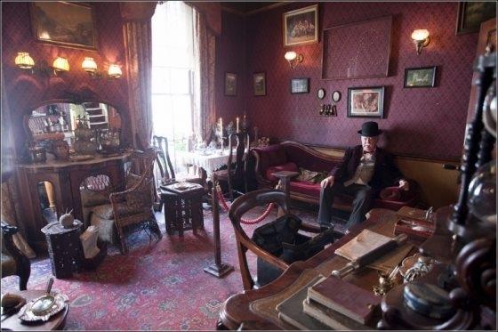 Музей Шерлока Холмса(немного Steampunk,дух старой, доброй Англии)