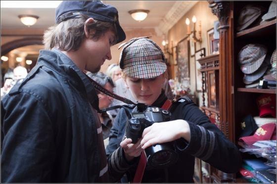 Музей Шерлока Холмса(немного Steampunk,дух старой, доброй Англии) (Фото 8)