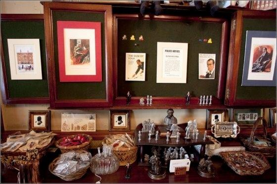 Музей Шерлока Холмса(немного Steampunk,дух старой, доброй Англии) (Фото 13)