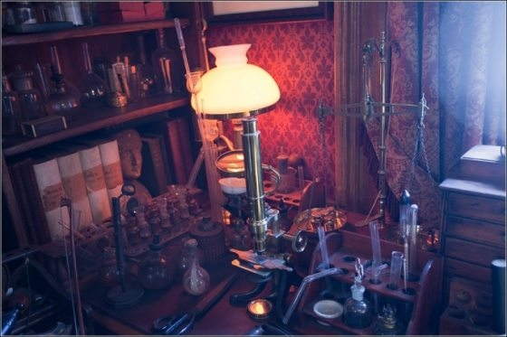 Музей Шерлока Холмса(немного Steampunk,дух старой, доброй Англии) (Фото 12)