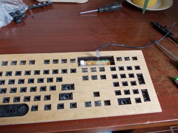 Какая-то там псевдовикторианская клавиатура. Часть №2.