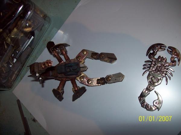 Скорпы флехи под стимпанк (Фото 10)