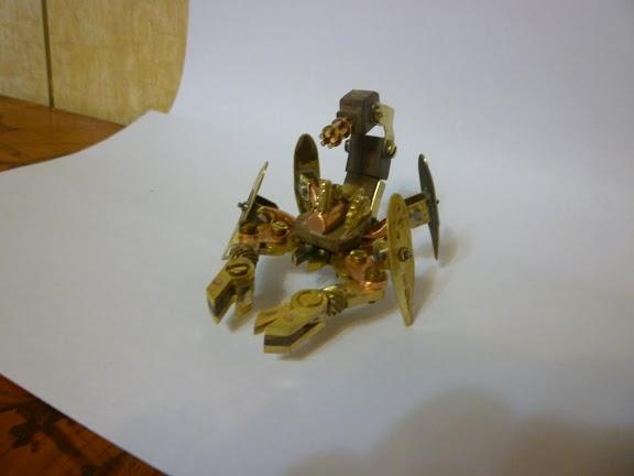 Стимпанк телефон и продолжение Стим скорпиона (Фото 14)
