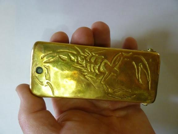 Стимпанк телефон и продолжение Стим скорпиона (Фото 10)