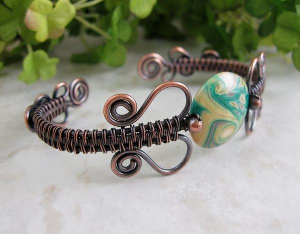 пример стиля wire wrap