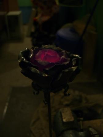 Кованая роза (Фото 10)