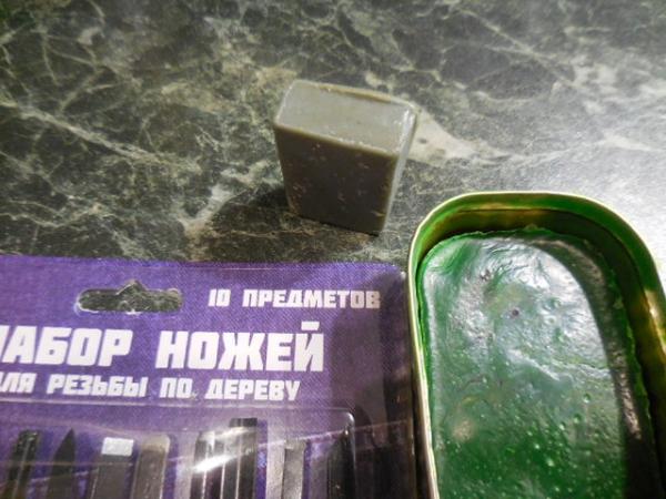 Восковки из Подручных средств.:)!
