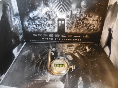 Doctor Who in Pocket Watches