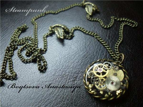 Мои украшения в стиле стимпанк (Фото 11)