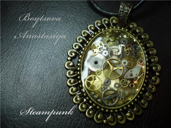 Мои украшения в стиле стимпанк (Фото 10)