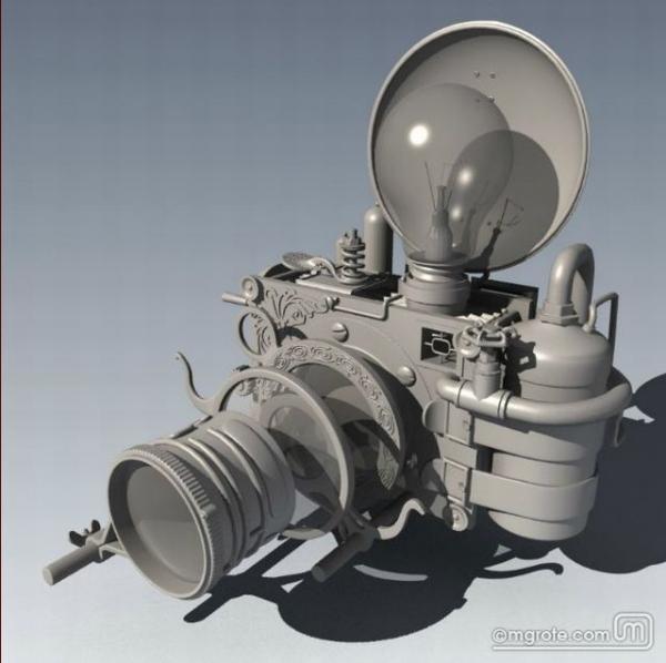 Steampunk Camera (Фото 5)
