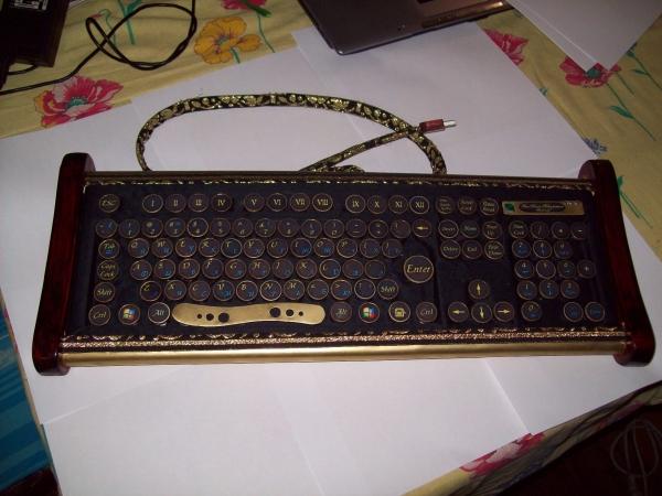 Клавиатура в стиле 18 века (Фото 4)