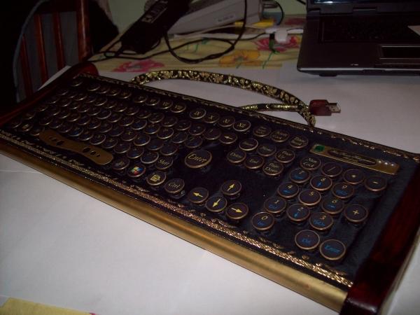 Клавиатура в стиле 18 века (Фото 9)