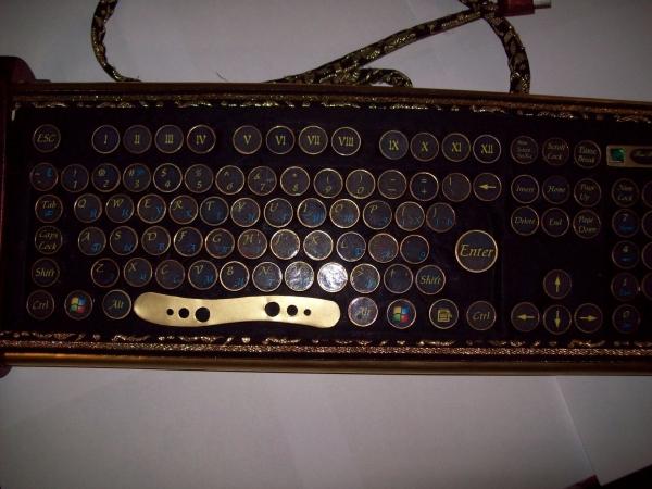 Клавиатура в стиле 18 века (Фото 6)