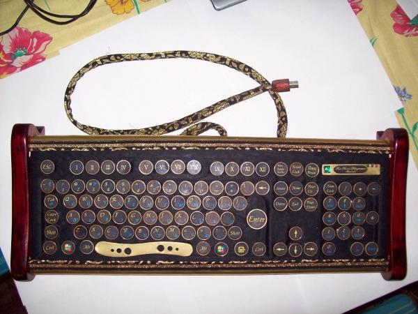 Клавиатура в стиле 18 века (Фото 8)
