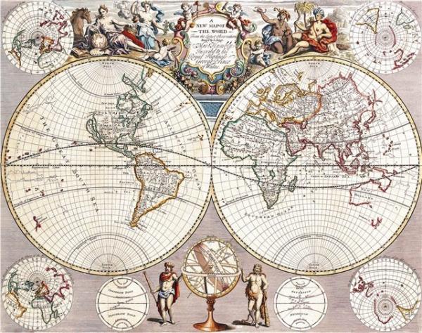 Старинные карты (небольшая подборочка) (Фото 2)