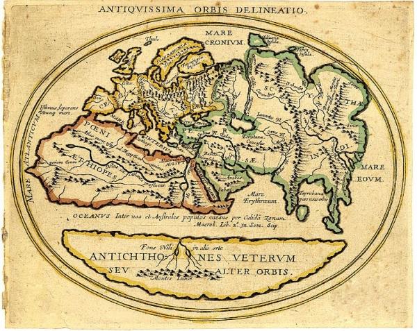 Старинные карты (небольшая подборочка) (Фото 19)