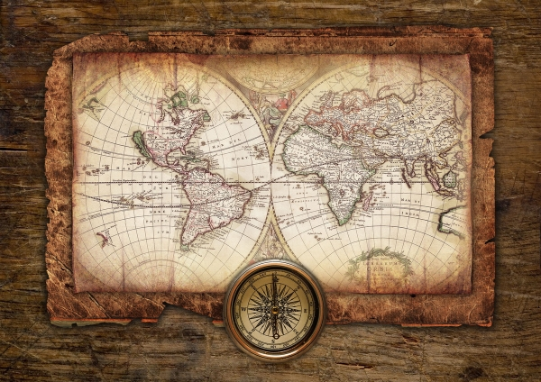Старинные карты (небольшая подборочка) (Фото 7)