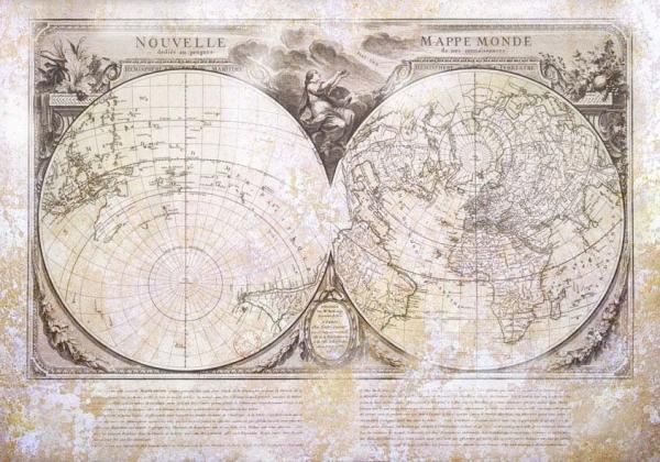Старинные карты (небольшая подборочка) (Фото 23)
