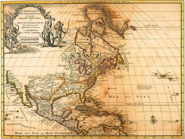 Старинные карты (небольшая подборочка) (Фото 10)