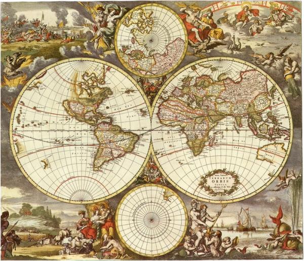 Старинные карты (небольшая подборочка) (Фото 9)
