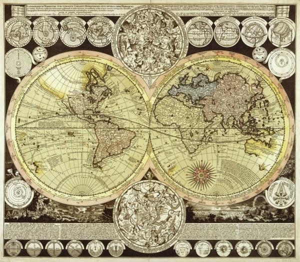 Старинные карты (небольшая подборочка) (Фото 22)