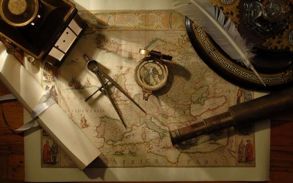 Старинные карты (небольшая подборочка) (Фото 16)