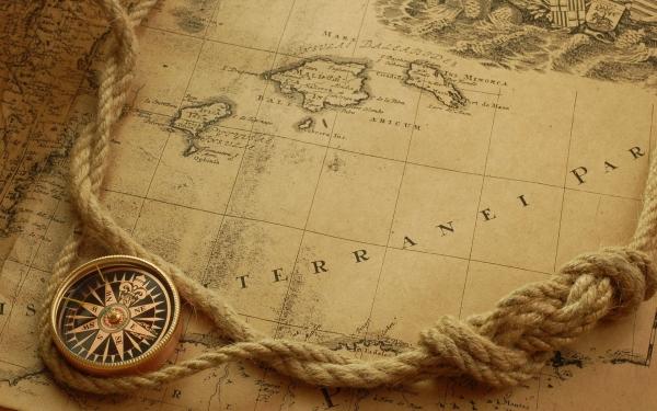 Старинные карты (небольшая подборочка) (Фото 14)