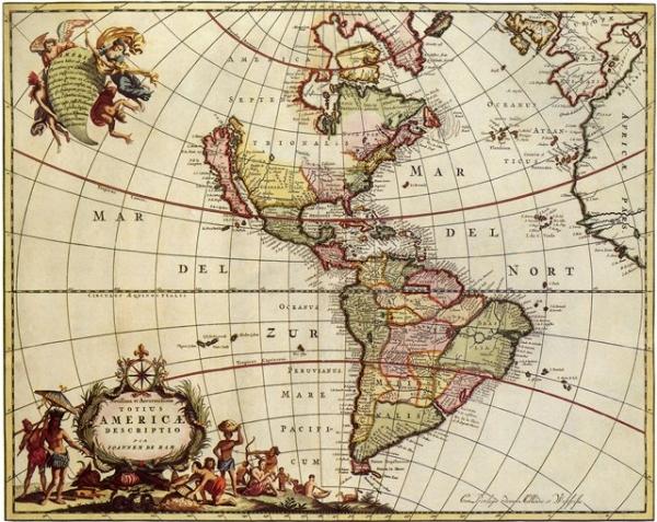 Старинные карты (небольшая подборочка) (Фото 6)