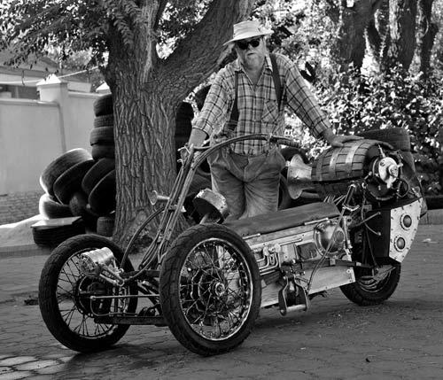 Steampunk Trike I