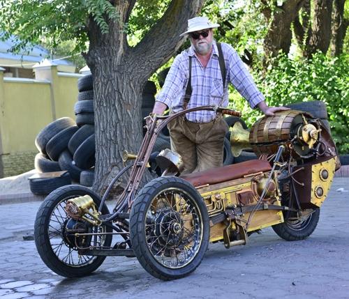 Steampunk Trike I (Фото 21)