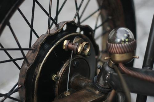 Steampunk Trike III завершение (Фото 54)