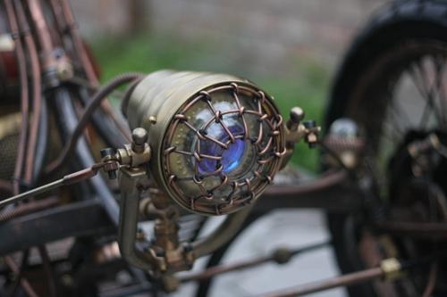 Steampunk Trike III завершение (Фото 10)