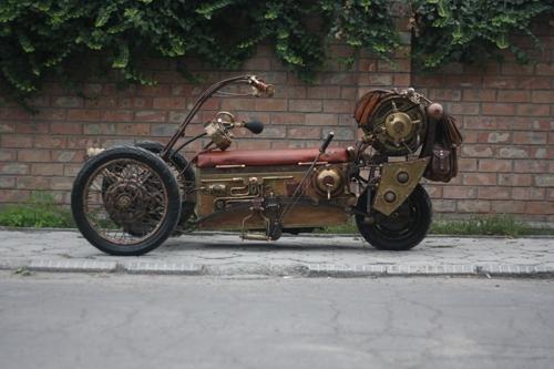 Steampunk Trike III завершение (Фото 2)