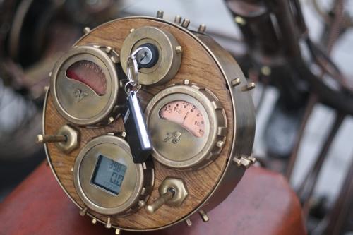 Steampunk Trike III завершение (Фото 22)