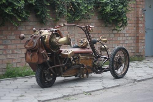 Steampunk Trike III завершение (Фото 6)
