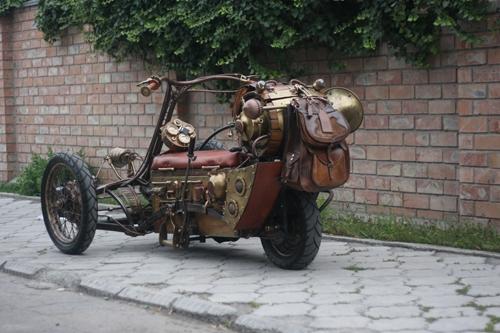 Steampunk Trike III завершение (Фото 5)