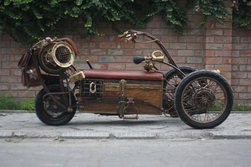 Steampunk Trike III завершение (Фото 4)
