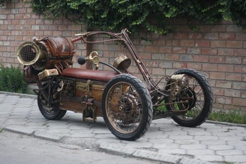 Steampunk Trike III завершение