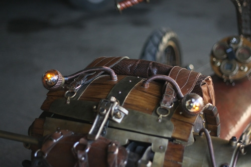 Steampunk Trike III завершение (Фото 17)