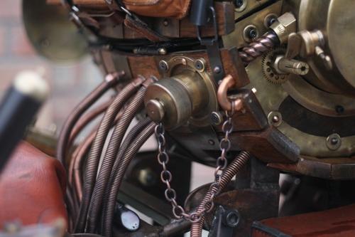 Steampunk Trike III завершение (Фото 73)