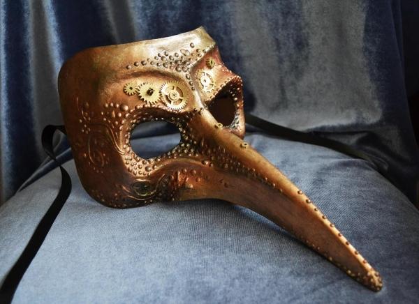 Карнавальные маски (легкий закос на стимпанк) (Фото 4)