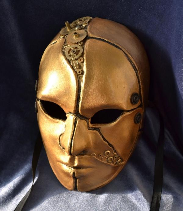 Карнавальные маски (легкий закос на стимпанк)