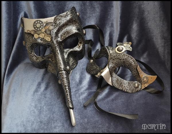 Карнавальные маски (не совсем «стим», но около) (Фото 6)