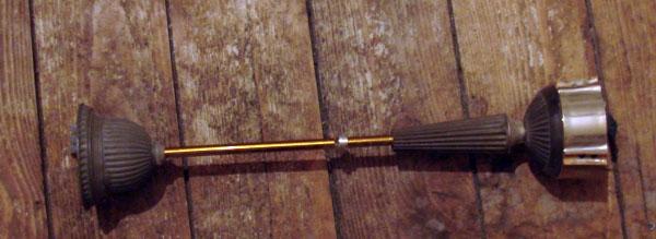 Перьевая ручка в стиле стимпанка