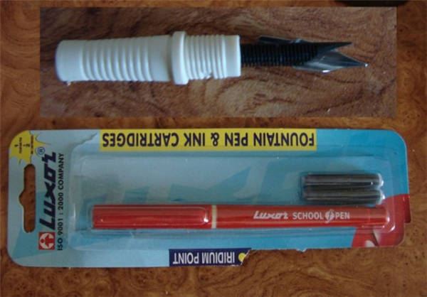 Перьевая ручка в стиле стимпанка (Фото 4)