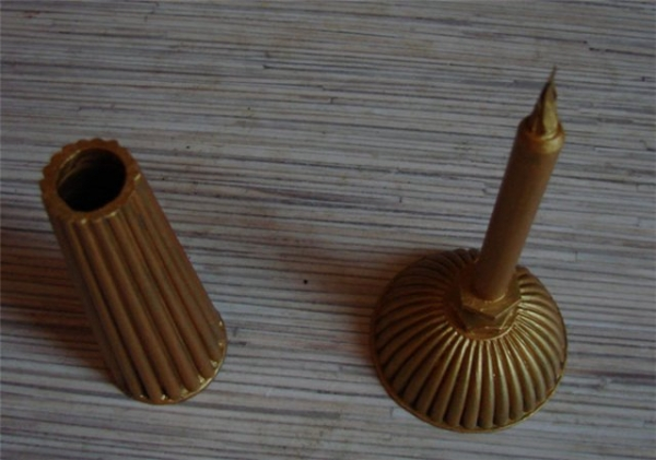 Перьевая ручка в стиле стимпанка (Фото 5)