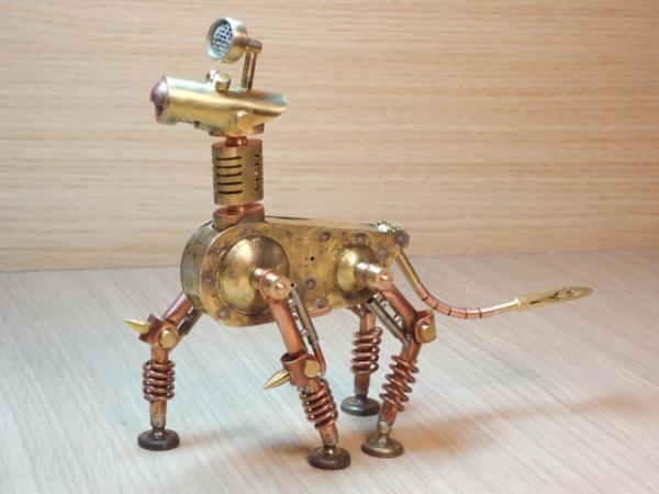 Механический конь Мятлик. Ворклог. (Фото 48)