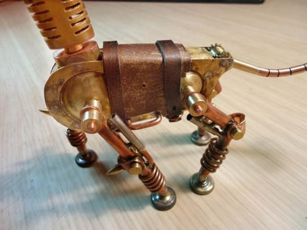 Механический конь Мятлик. Ворклог. (Фото 54)