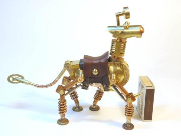 Механический конь Мятлик. Ворклог. (Фото 56)